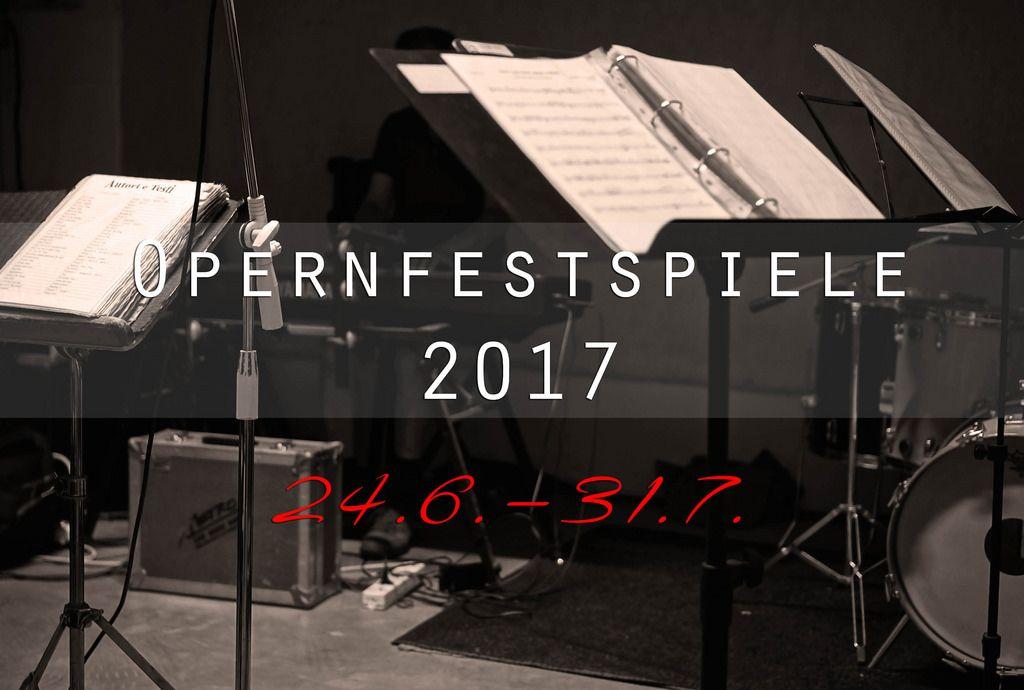Opernfestspiele München 2017
