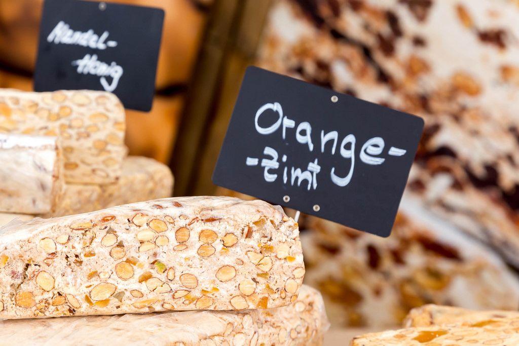Orange-Zimt-Nougat