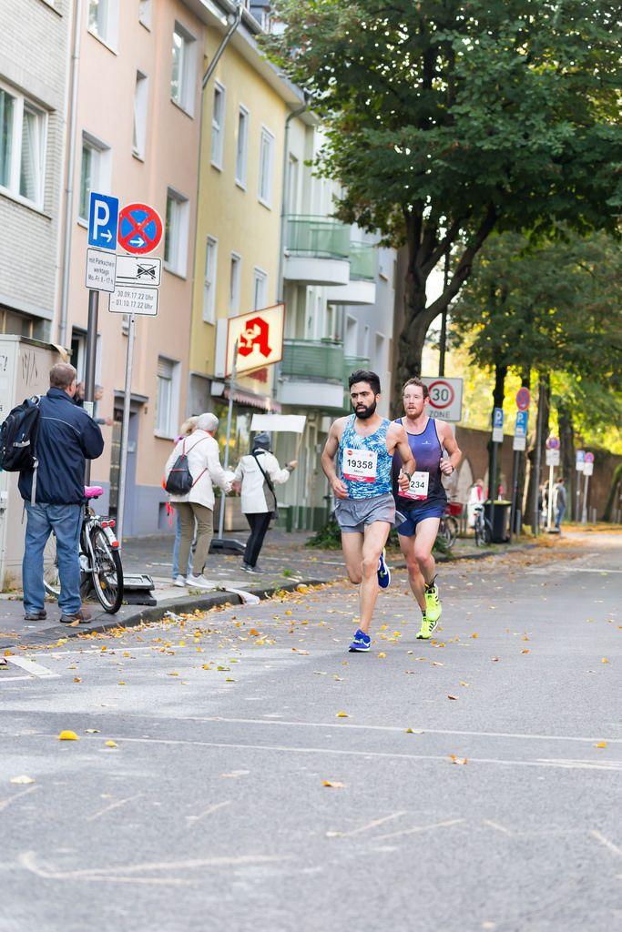 Oubaha Idriss, Wilberforce Gary - Köln Marathon 2017