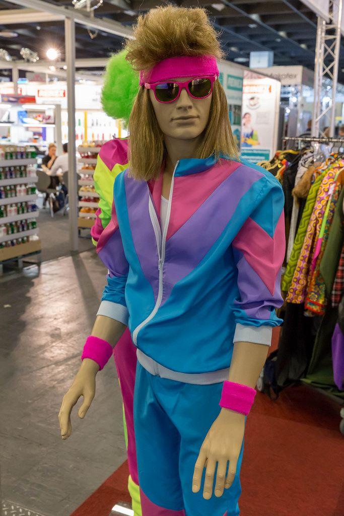 Outfit für Männer im Look der 80er - IAW Köln 2018