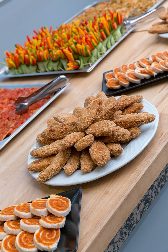 Pa amb tomaquet, Chicken-Nuggets und anderes Finger-Food