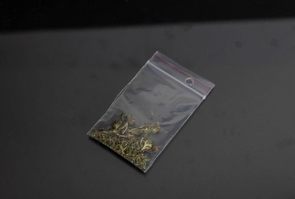 Pack of marijuana
