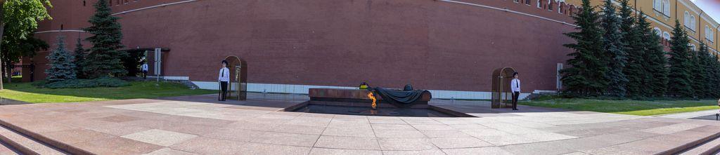 Pano der ewigen Flamme, Kreml, Moskau
