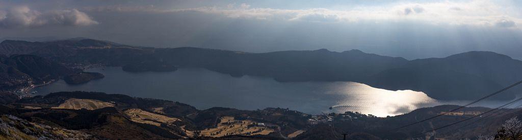 Panorama von Mt. Hakone