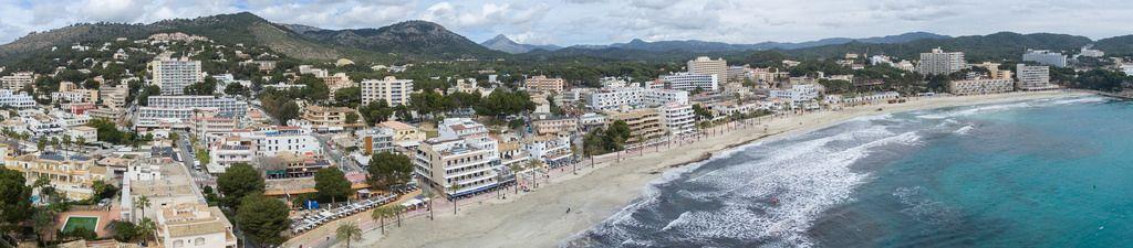 Panorama von Peguera, Mallorca