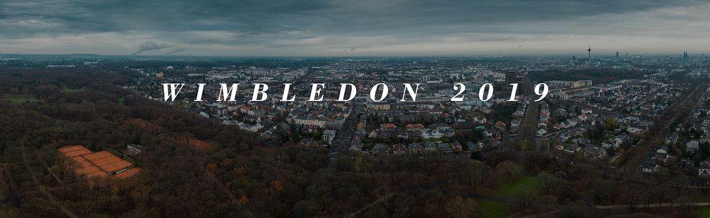 Panoramabild der Stadt mit Aufschrift