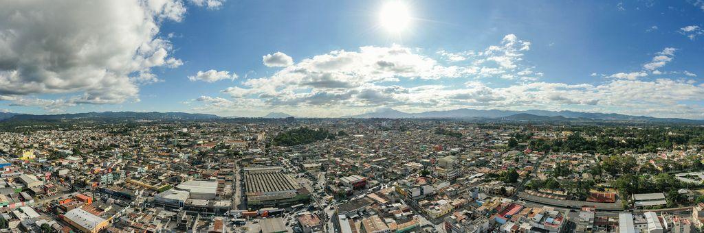 Panoramic View of Guatemala City