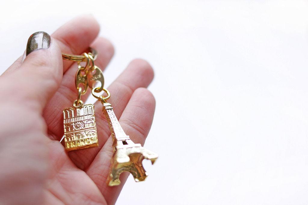Paris-Schlüsselanhänger
