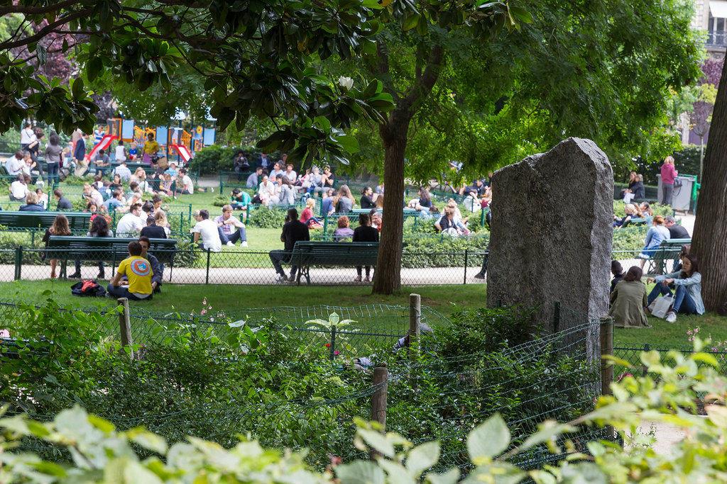 Park: La Trinité in Paris