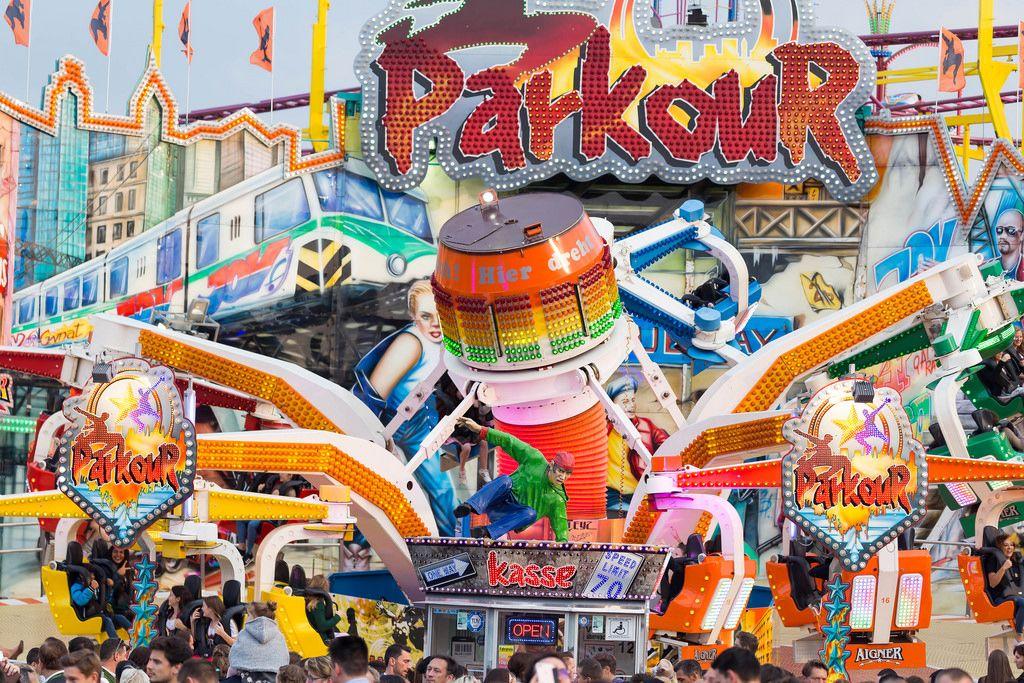 Parkour - Oktoberfest 2017