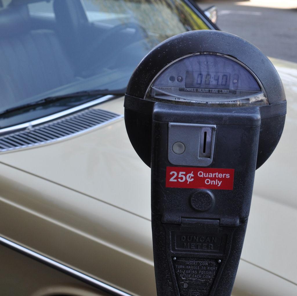 Parkuhr auf Sausalito / Parking Meter at Sausalito