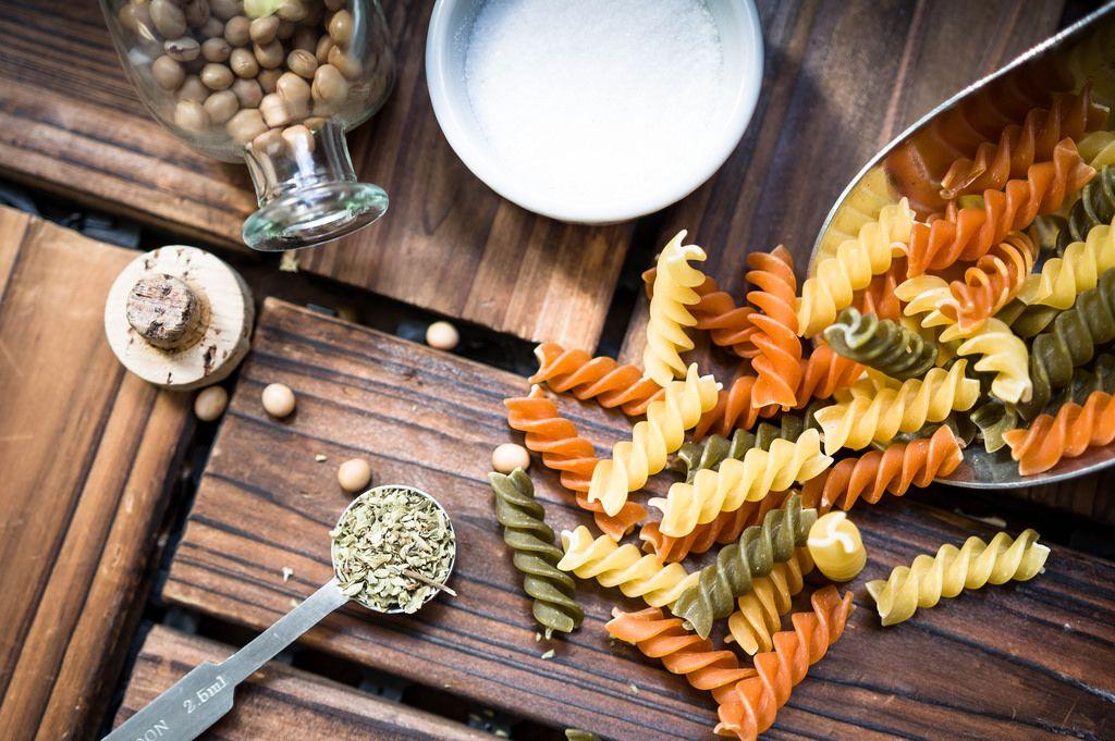 Pasta cooking process