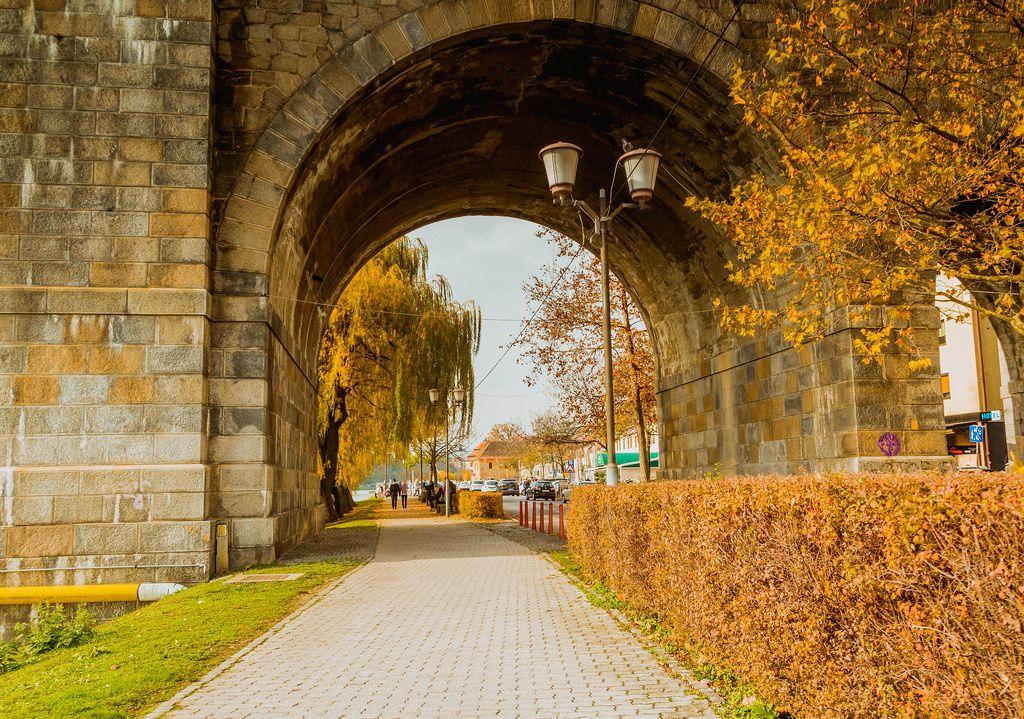 Pathway in Maribor