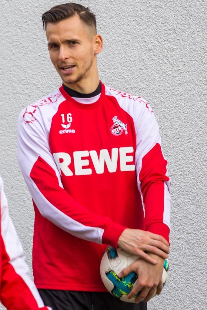Paweł Olkowski vor dem Training am 30.01.2018