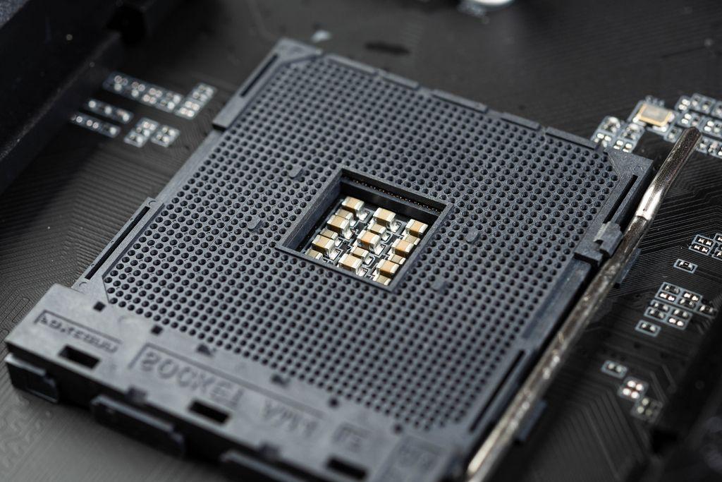 PC Processor slot on Computer Motherboard (Flip 2019)