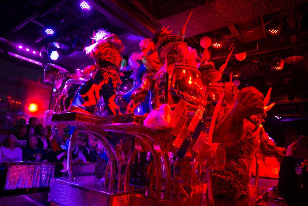 Performance at the Robot Restaurant in Shinjuku, Tokyo