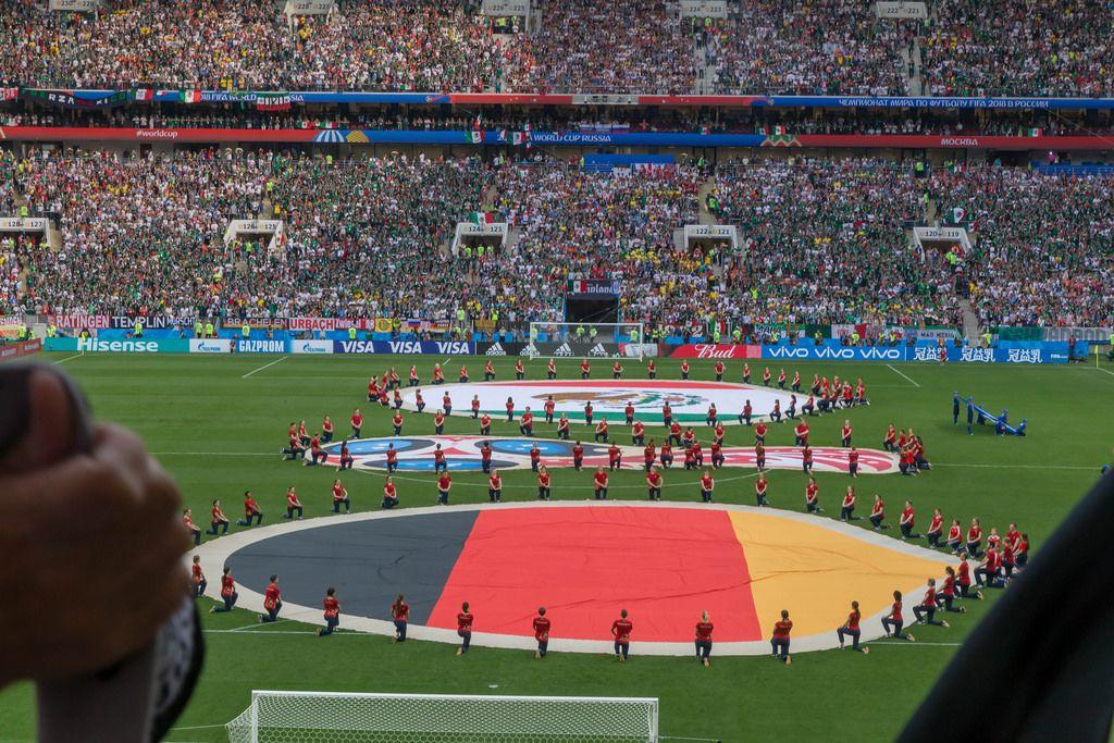 Performance vor dem Spiel Deutschland gegen Mexiko