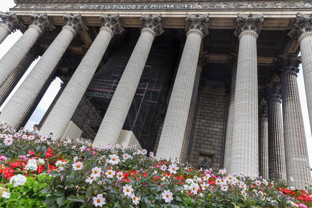 Pfarrkirche La Madeleine (St. Maria Magdalena) in Paris
