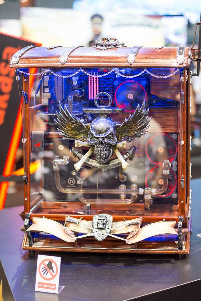 Piraten PC-Gehäuse von Caseking