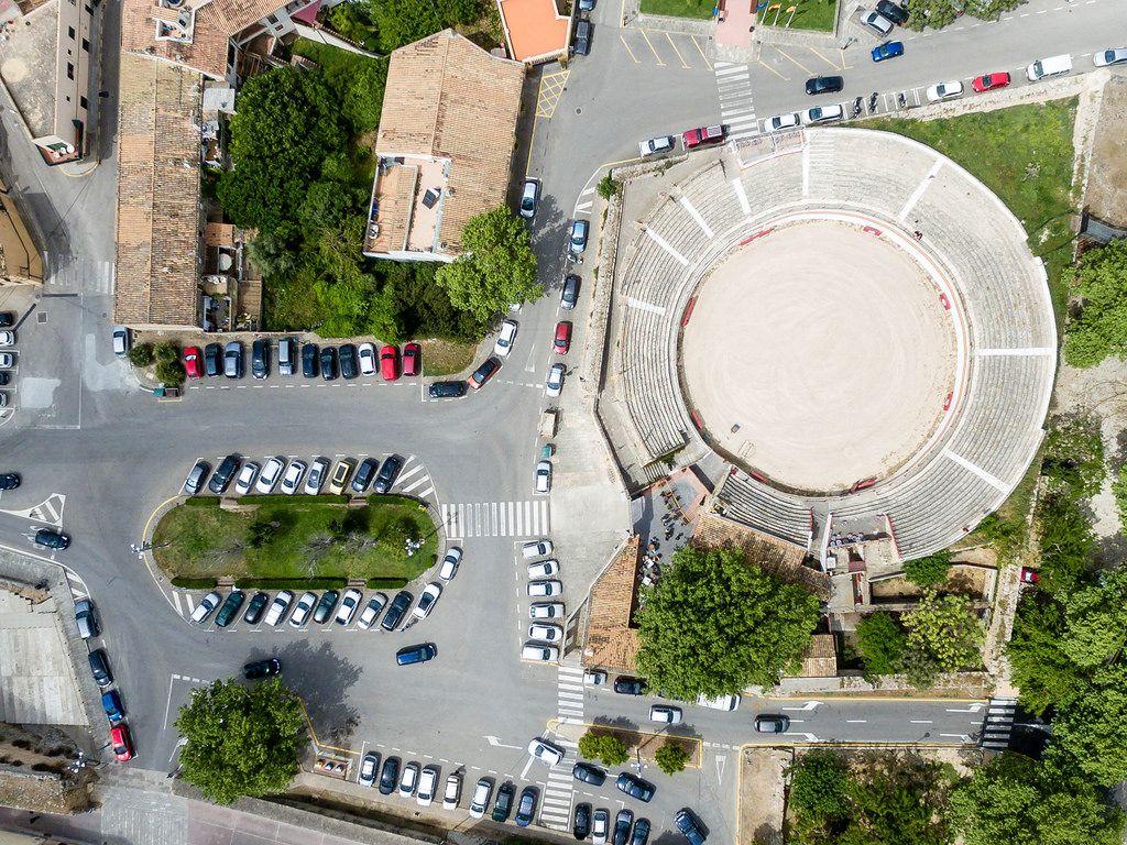 Plaça Porta Roja und Plaça de Toros  in Alcudia