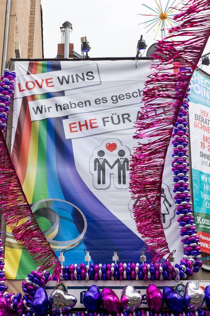 Plakat: Ehe für Alle am 30.06.2017
