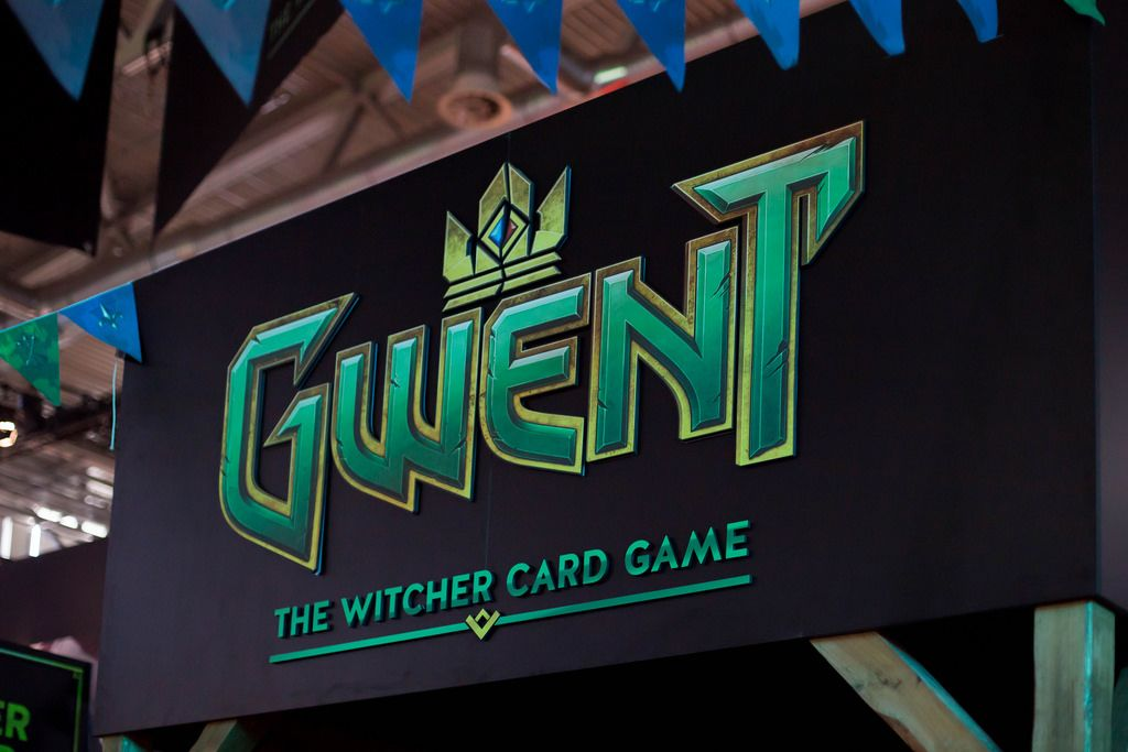 Plakat von Gwent The Witcher Card Game