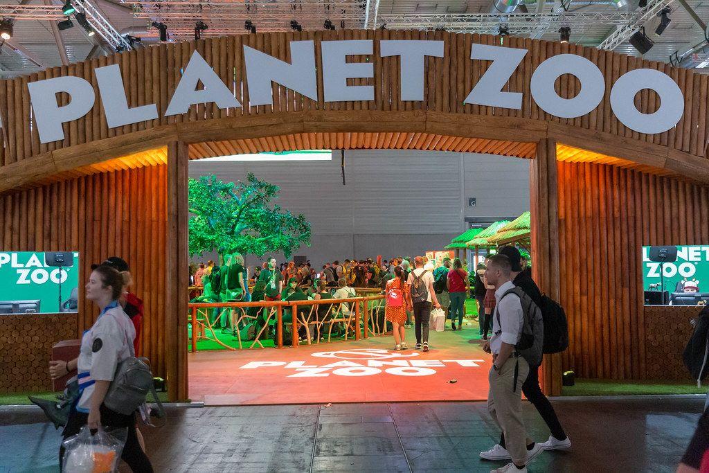 Planet Zoo Kulissennachbau des Frontier Developments - Videogames