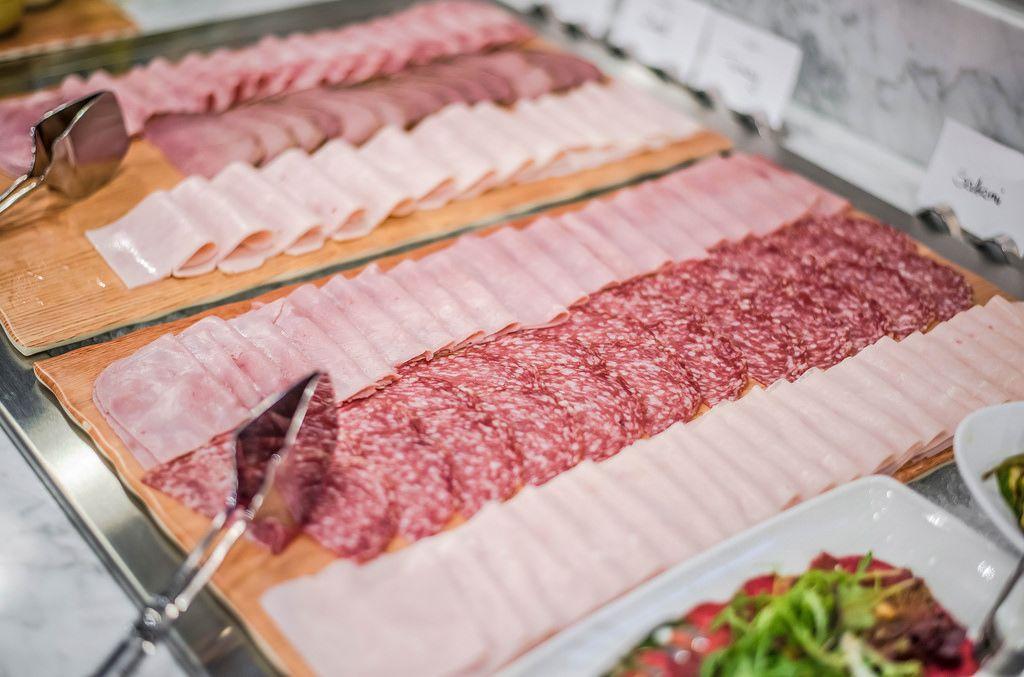 Plate Of Asorti Ham