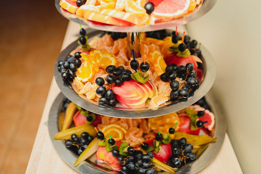 Plate Of Grapes, Apples, Tangerines, Kiwi, Oranges (Flip 2019)