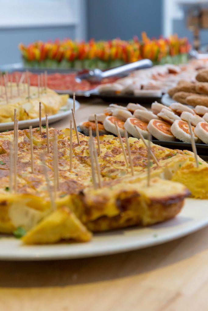 Platten mit verschiedenen Appetitanregern