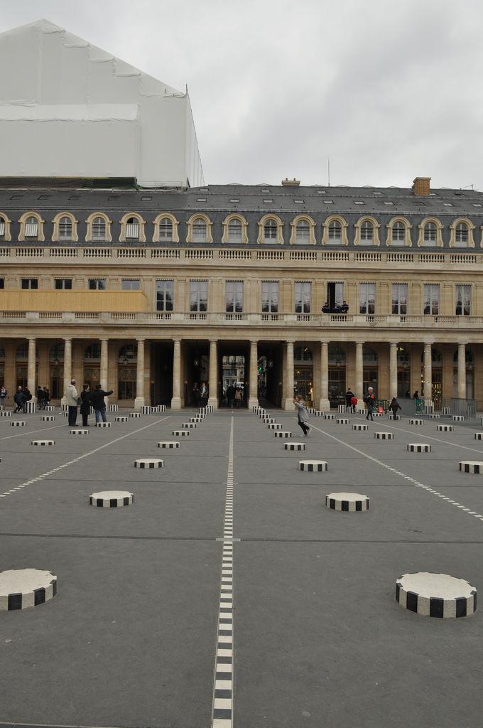 Platz in Paris