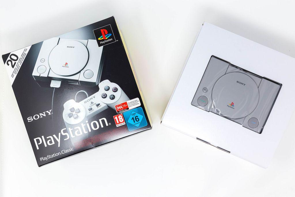 Playstation Classic Mini Konsole