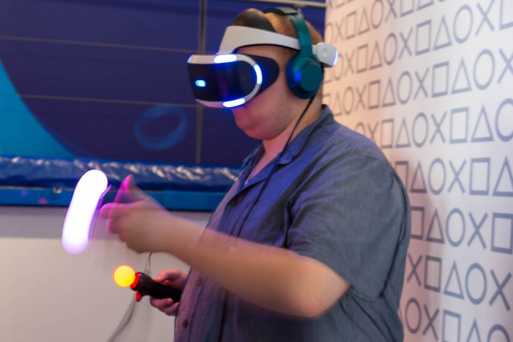 Playstation VR und Move Controller