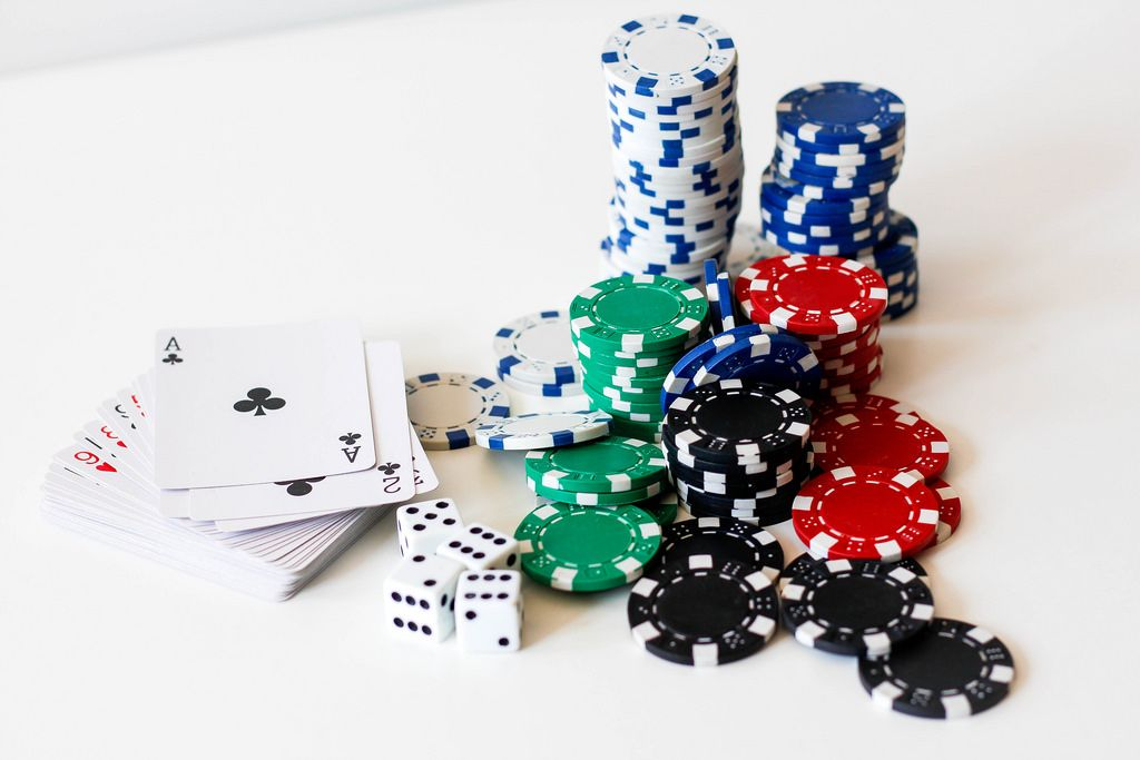 Poker Cards and Chips - Creative Commons Bilder