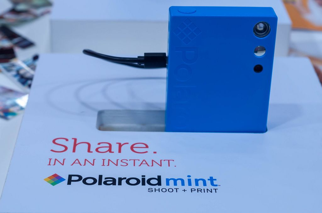 Polaroid Mint Instant Print Camera at IFA Berlin 2018