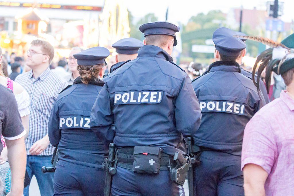 Police at Oktoberfest 2017