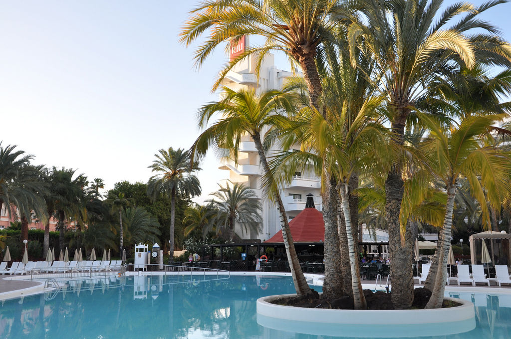 Pools in Riu Papaya, Gran Canaria