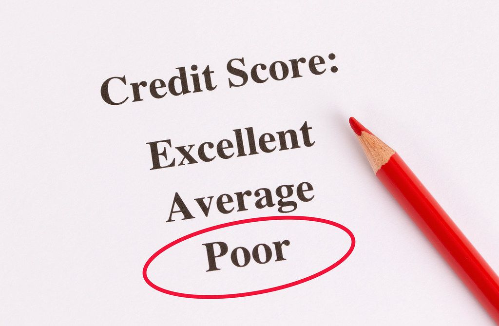Poor Credit Score result
