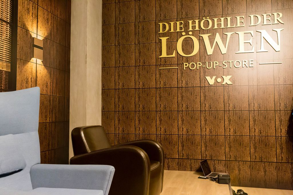 Pop-Up-Store Die Höhle der Löwen