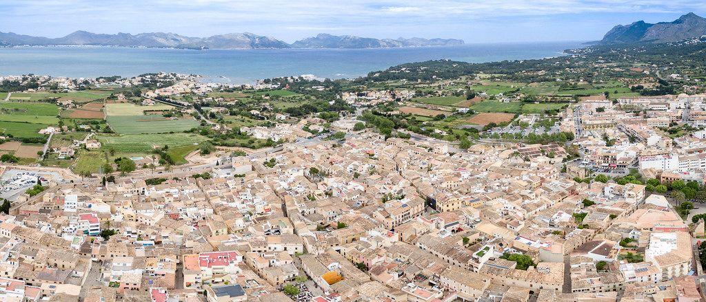 Postkarte: Alcudia Altstadt
