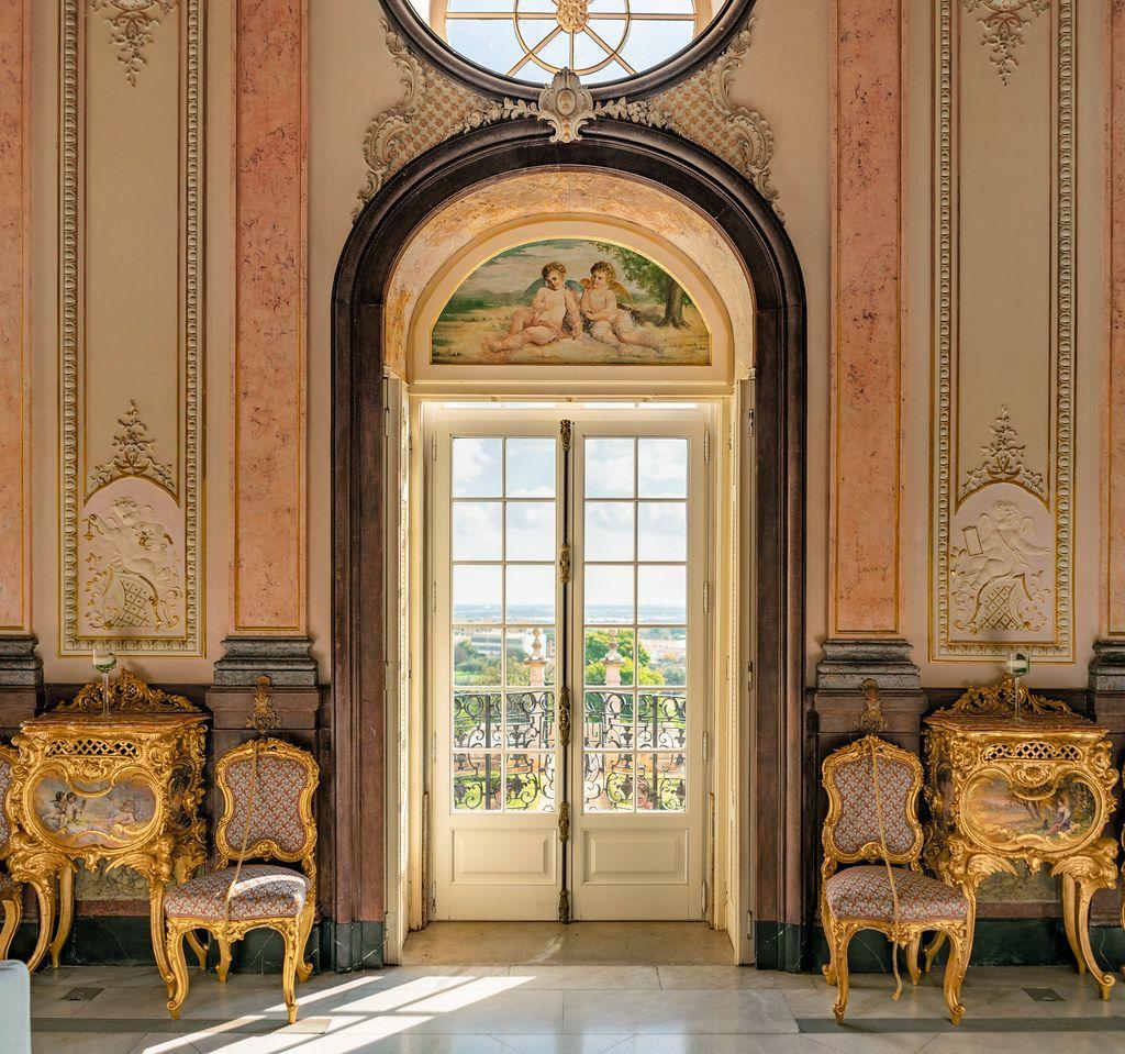 Pousada Palácio Estói interior (Flip 2019)