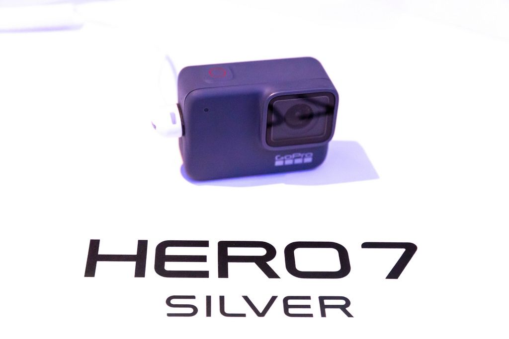 Premiere der Action Kamera GoPro Hero 7 Silver an der Photokina in Köln