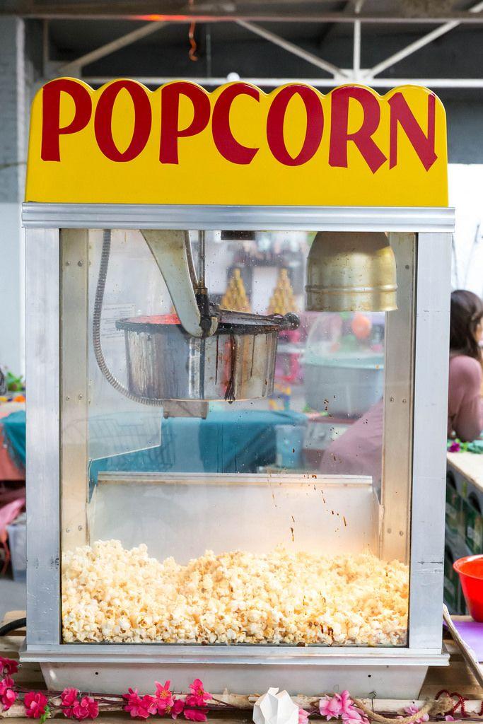 Professionelle Popcorn-Maschine