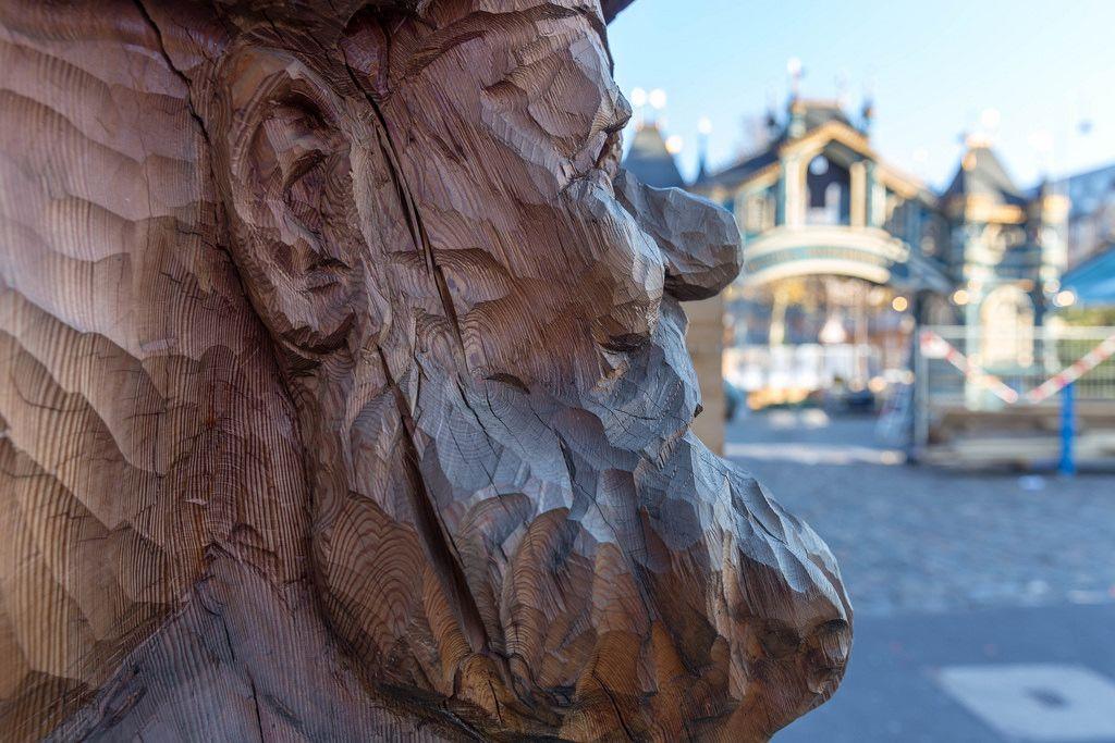 Profil eines Holz-Zwergs