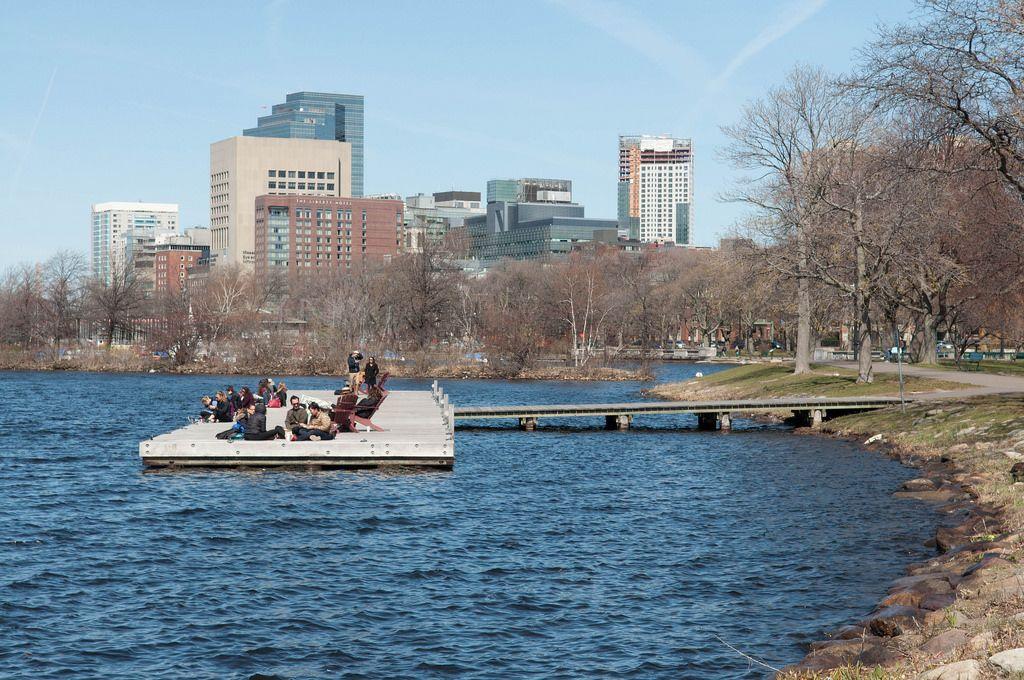 Public Garden in Boston, USA