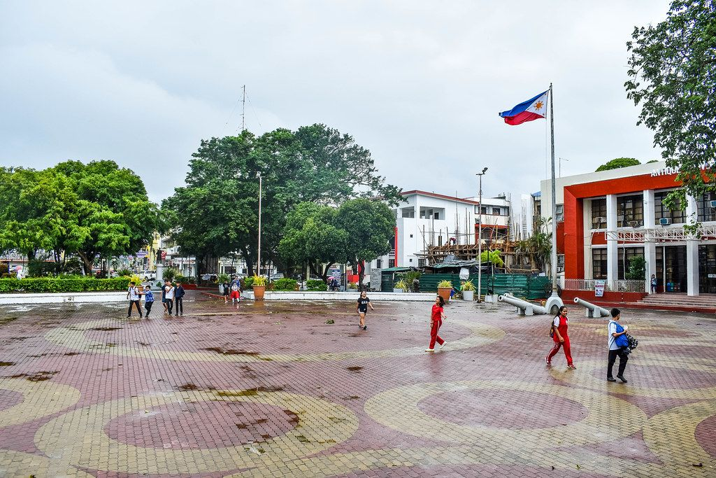 Public plaza of San Jose, Antique