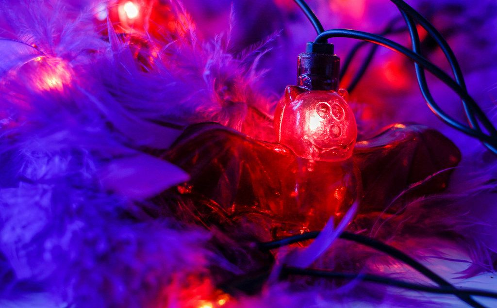 Purple Bat Light