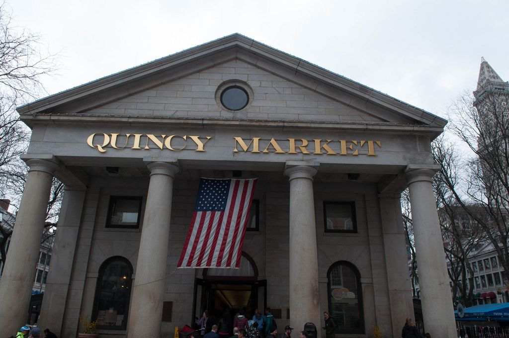 Quincy Market in Boston, USA