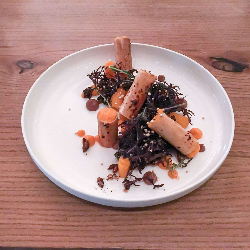 Quinoa: mariniert & gepufft   Butternutkürbis   Chili