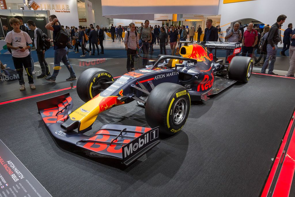 Racing Car By Honda Aston Martin Red Bull Racing Rb15 Creative Commons Bilder